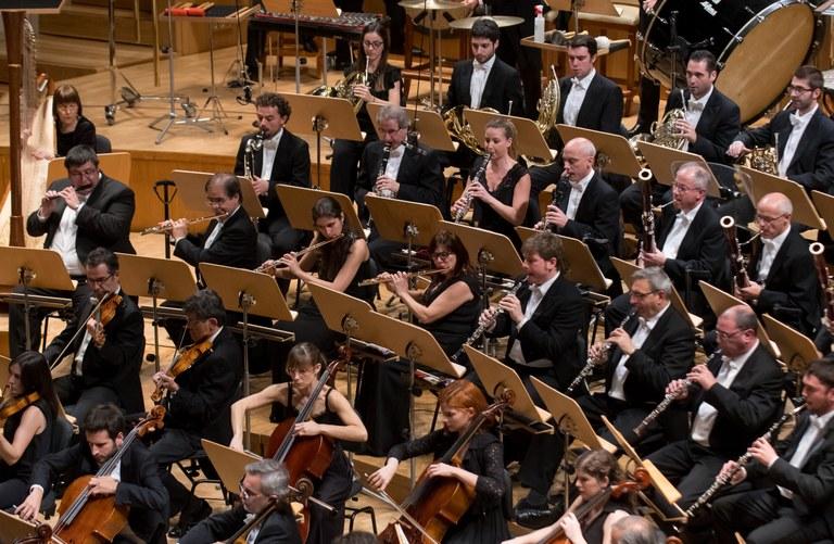 Componentes de la Orquesta Nacional de España